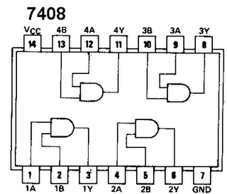 Quad 2 Input And Gate 7408 on ic 555 timer datasheet