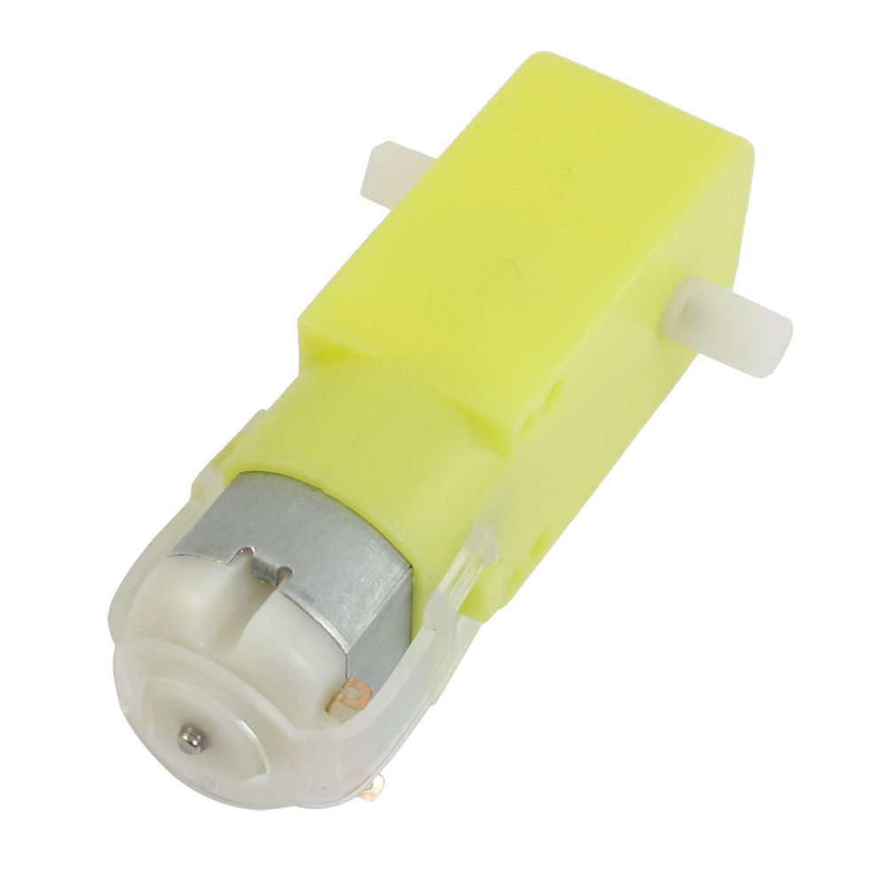 Yellow Gearbox Motor - Robotech Shop