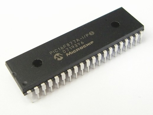 PIC16F877A-microcontroller