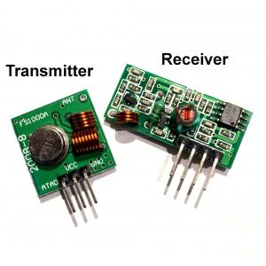 RF Transmitter Receiver - Pair