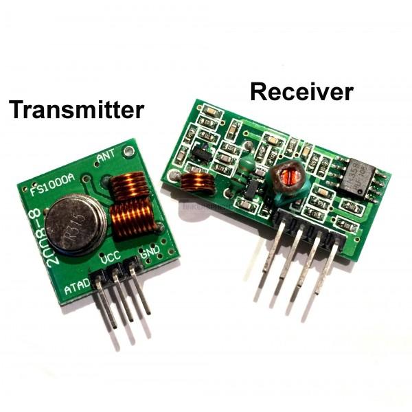 RF Transmitter Receiver - Pair