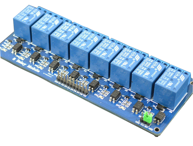 8 Channel Relay Module Robotech Shop