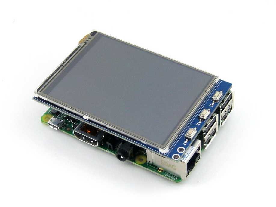 Connection of color display to arduino