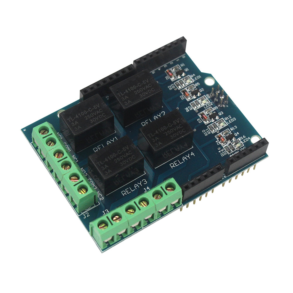 Amazing 4 Channel 5V Relay Shield For Arduino Robotech Shop Wiring Digital Resources Timewpwclawcorpcom