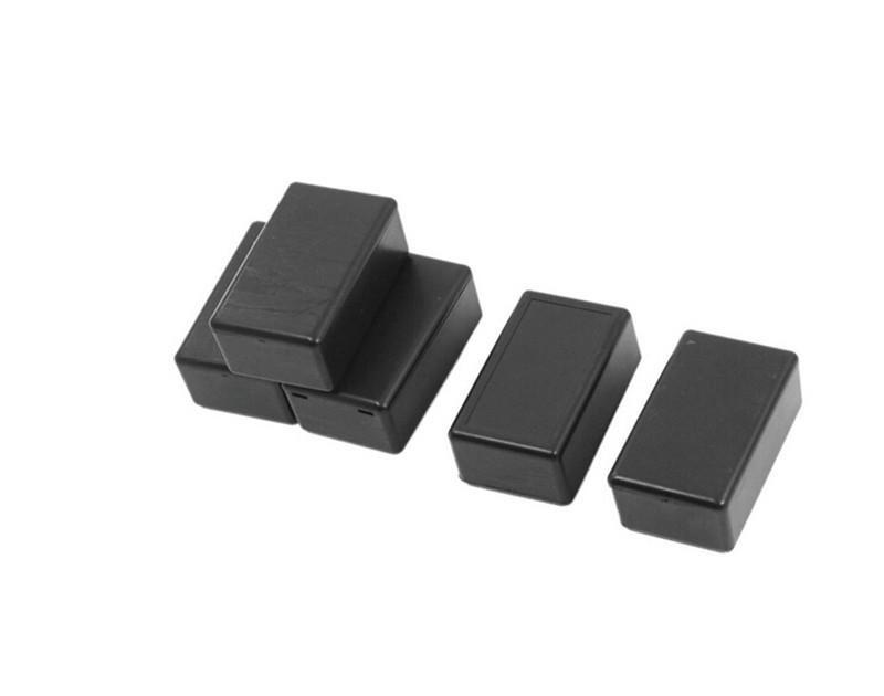 Black DIY Enclosure Instrument Case Plastic Electronic Project Box ...