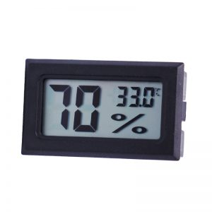 temp and humidity display