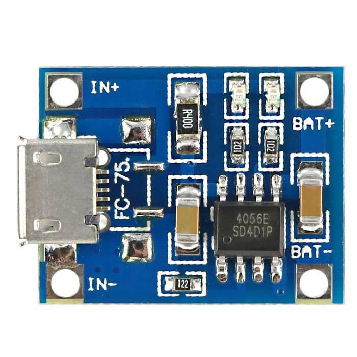 tp4056 carging module
