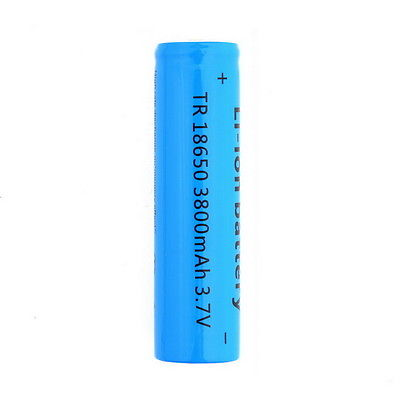 18650 li ion battery for Power bank 3800mah - Robotech Shop
