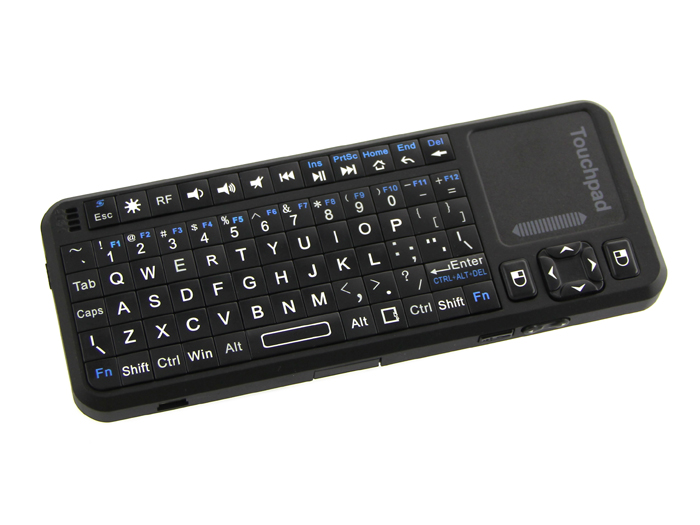 mini wireless keyboard and touchpad mouse rechargeable robotech shop. Black Bedroom Furniture Sets. Home Design Ideas